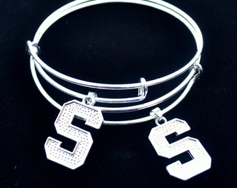 Michigan State Expandable Bangle Bracelet