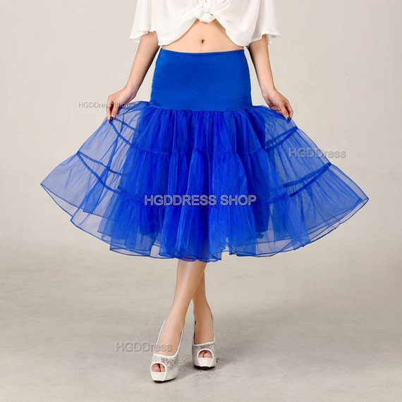 royal blue tulle skirt bachelorette tutu by