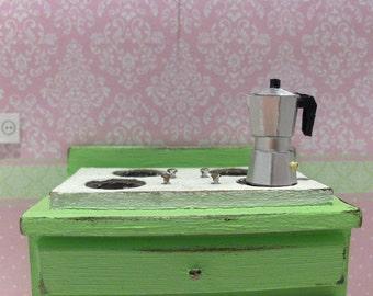 1:12 Scale Italian Espresso Coffee Pot