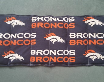 Hot & Cold Therapy Rice Pack - team BRONCOS pattern