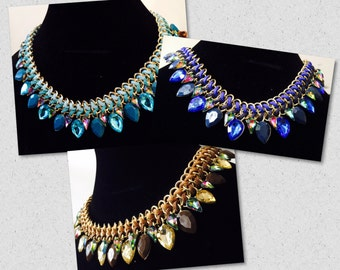 Beautiful-elegant-fashion-statement-necklace
