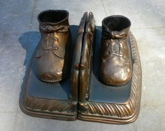 Gorgeous Custom BookEnds Lovely Patina