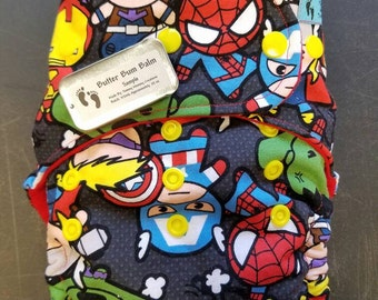 Super Hero OS Diapers/Cover/Pocket/AI2/AIO/Hybrid/Fitted