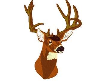 Buck Embroidery Design