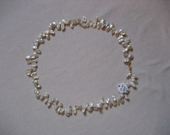 Keishi Pearl Necklace, 14 Kt.