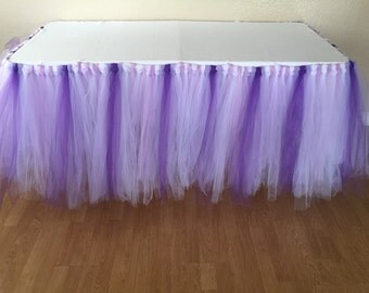 SALE this week only! Tutu Table Skirt