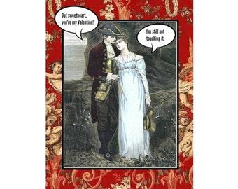 Naughty Valentine, funny Valentine - Not Touching It