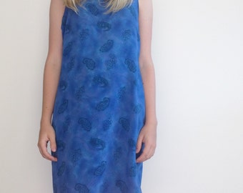 SALE - 20% OFF vtg blue dress