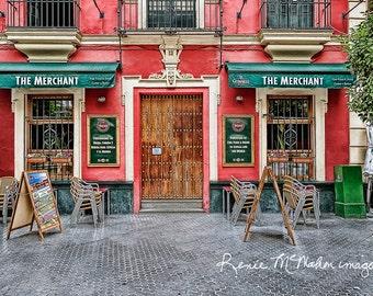 Spain Photography, Seville Photo, Large Wall Art, Colorful Kitchen  Art,restaurant Art