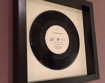 "The Proclaimers ""I'm Gonna Be (500 miles)"" Original Vinyl Framed Gift"
