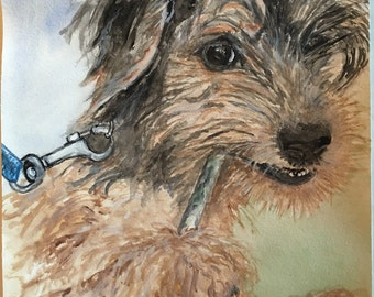 Custom Painting of your Furry Family Member