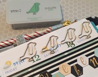 Bird Paperclip Set
