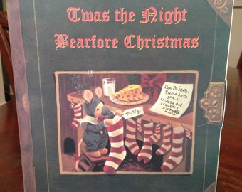 Muffy Mouse Limited Edition 1995 - Twas the Night Bearfore Christmas