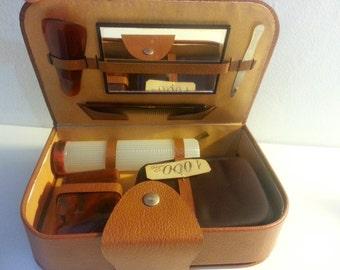 vintage Travel kit/neceser de viaje vintage
