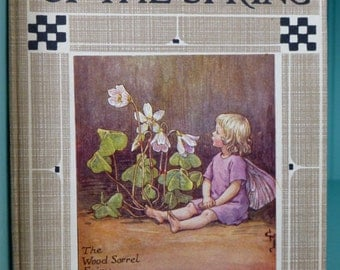 Flower Fairies of the Spring by Cicely Mary Barker 1950s Edition