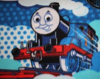 Thomas The Train Fleece Toddler Blanket With Satin Edge