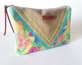 Wanderer - Tropical Floral POUCH / COIN PURSE