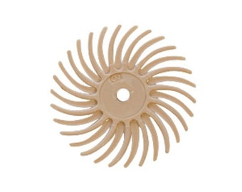 3M Radial Disc, Peach, 3/4 Inch, 6 Micron, Pack of 12 | BRS-580.80