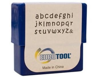 Aras Alphabet Stamp Set, Lower Case, 2mm, 27 Piece Set | PUN-745.00