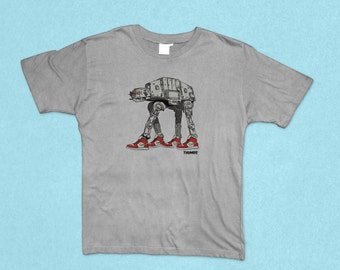 Star Wars AT-AT x Nike Heather Grey T-Shirt