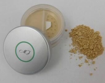 Mineral Makeup, Foundation, Loose Powder, Warm Beige, Natural Makeup