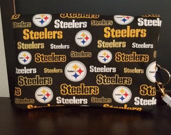 Pittsburgh Stealers clutch bag
