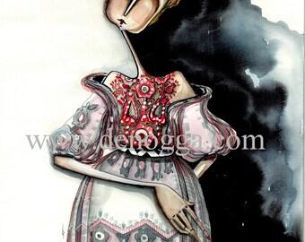 Ukraine Fashion girl