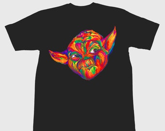 May the Color Be With You- T-shirt