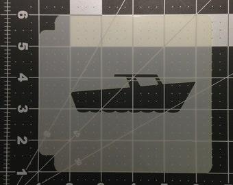 Boat Stencil 100
