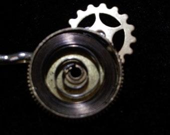 Spiral and Cog Bobby Pin