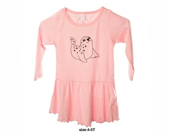 Toxic Waves Toddler long sleeve dress