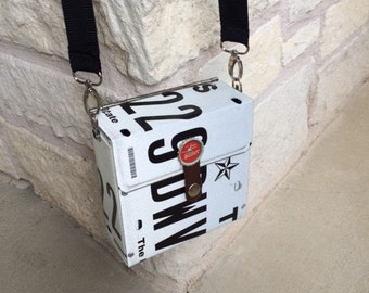 Texas License Plate Purse
