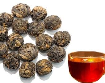 Dragon Pearls Black Tea - Chinese Tea - Caffeinated - Black Tea - Tea - Loose Tea - Loose Leaf Tea - FREE Shipping