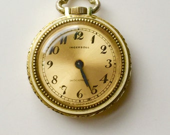 Pretty small Ingersol pocket watch