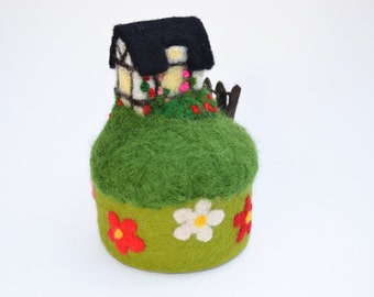 Summer cottage Pincushion
