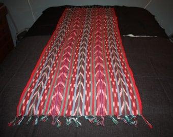 Guatemalan Ikat Cotton Sash