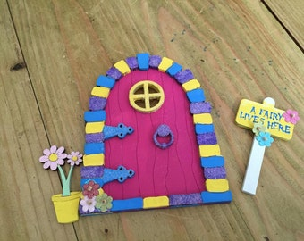 Unavailable listing on etsy for Batman fairy door