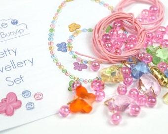 Kid's Pretty Jewellery Making Kit