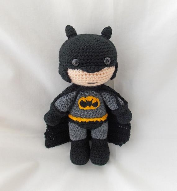 Crochet Batman Amigurumi Batman Crochet Dark by sittingcrochet