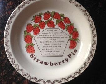 Strawberry Pie Pan