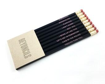 BEYONCILS pencil set