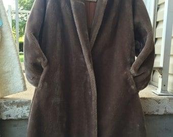Vintage coat for faux