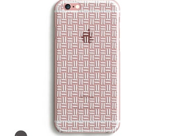 iPhone 7 Case Silicone, White iPhone 6 case, iphone 5c phone case, iphone 6 case, iphone 5s case clear
