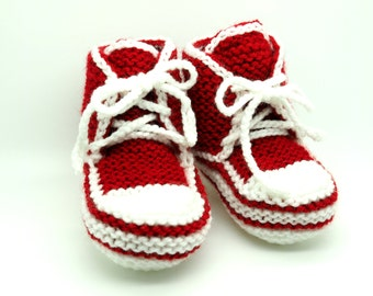 Baby Kids Children Knitted Sport Boots, Socks, Knitted House Shoes, Knitted Winter Boots, Warm and Soft