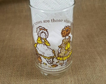 Vintage Holly Hobbie Coca-Cola Glass