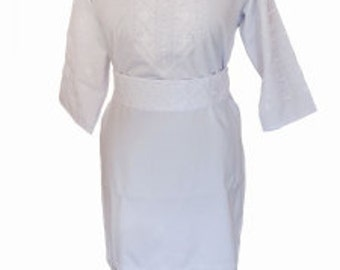 """Dress with embroidered """"Morning dew"""""""