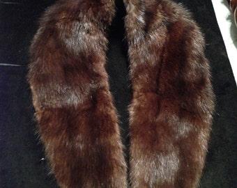 Mink collar vintage