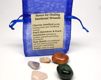 Stones For Healing Emotional Wounds
