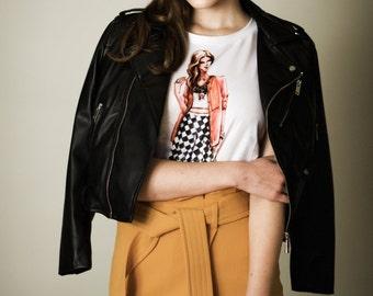 Fashion Illustration T-Shirt Emma