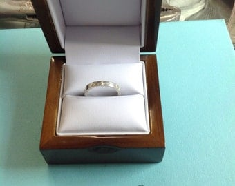 Tiffany I Love You Sterling Ring